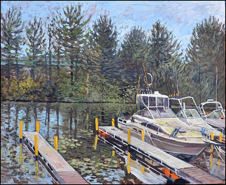 Fishing Boats-16x20